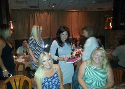 Jersey Housewife, Kathy Wakile - book signing dinner party